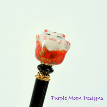 lucky_cat_hair_stick_handmade_by_purple_moon_designs.jpg