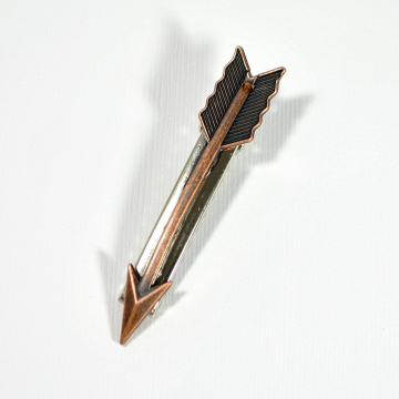 Copper Arrow Hair Clip, Alligator Barrette