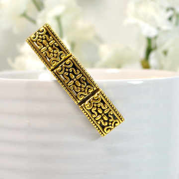 Gold Victorian Filigree Hair Clip