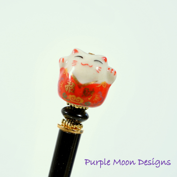 Lucky Cat Hair Stick