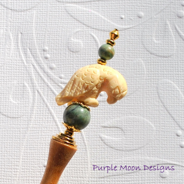 Parrot Hair Stick